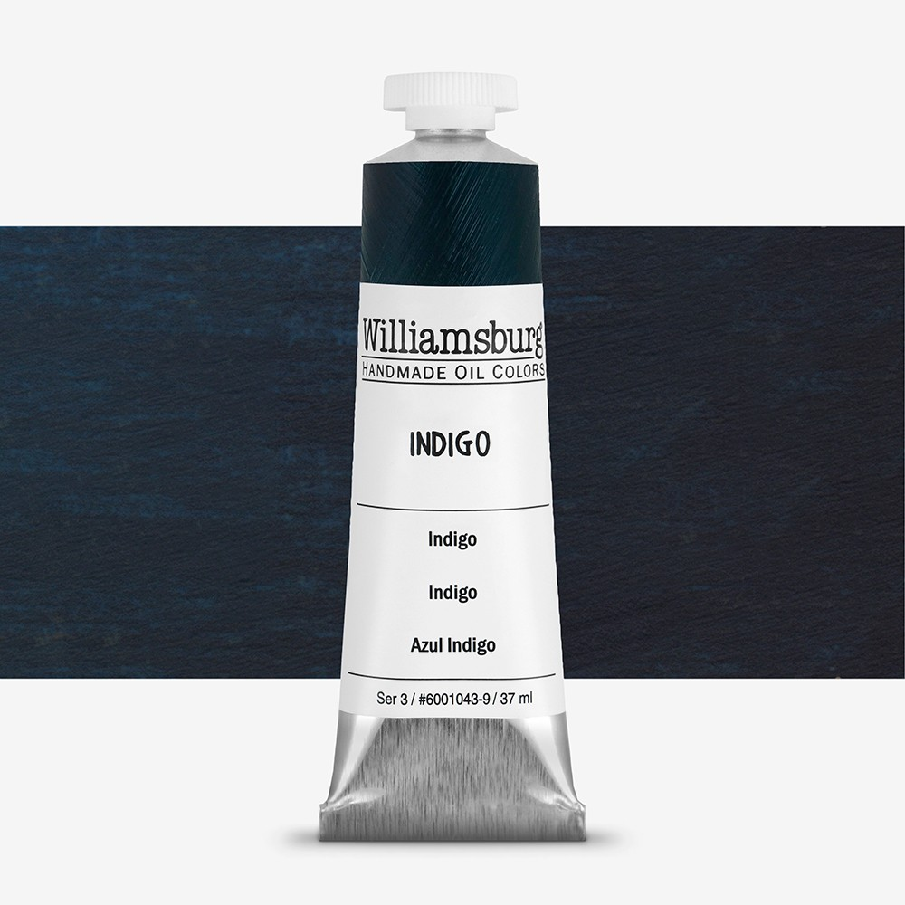 Williamsburg : Oil Paint : 37ml Indigo