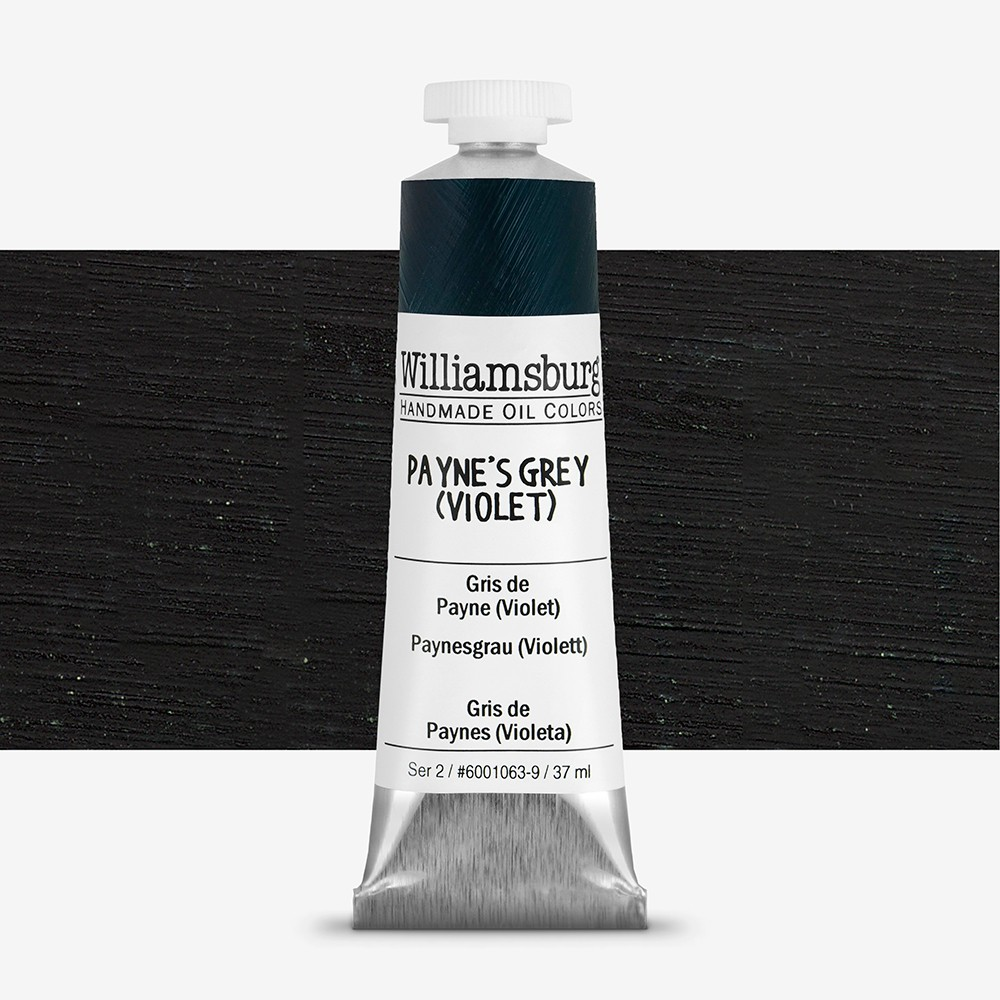 Williamsburg : Oil Paint : 37ml Payne's Grey (Violet)