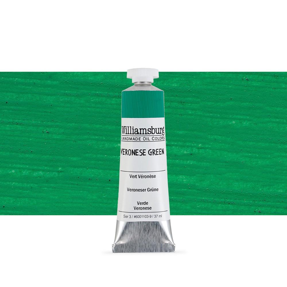 Williamsburg : Oil Paint : 37ml Veronese Green