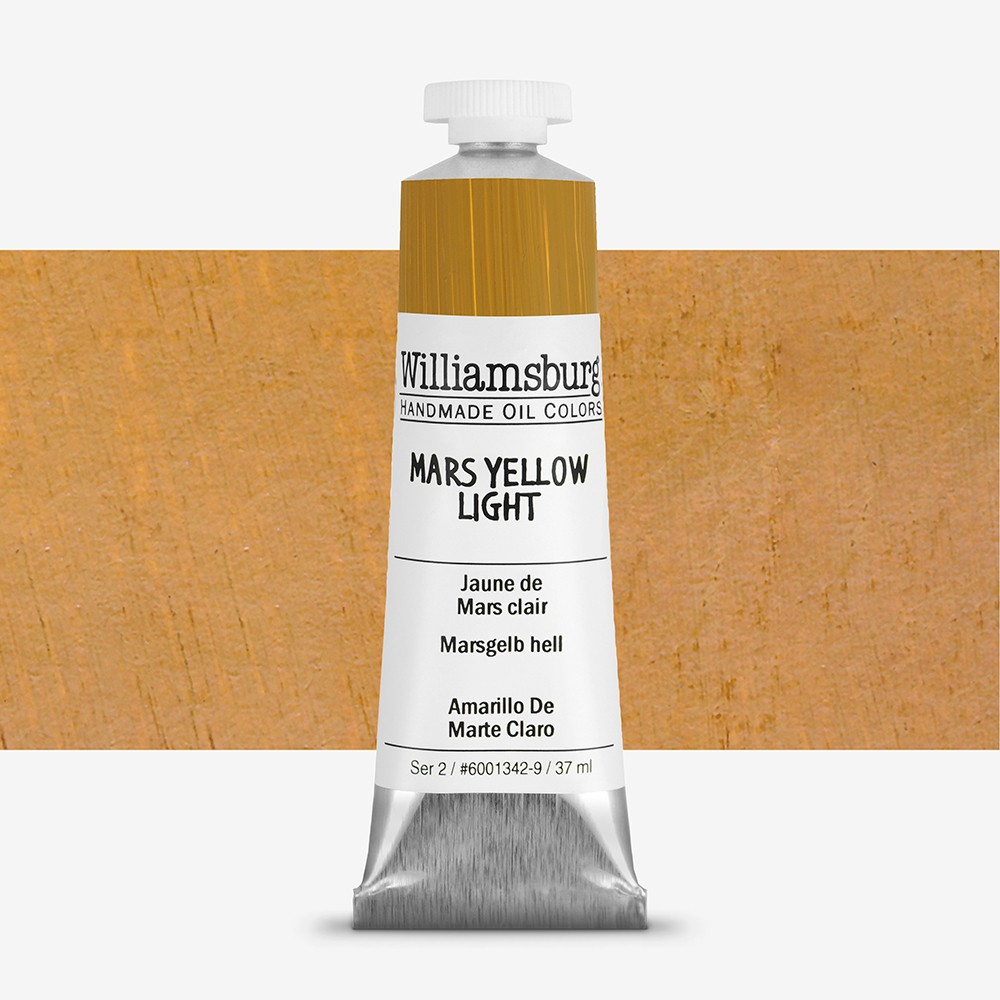 Williamsburg : Oil Paint : 37ml Mars Yellow Light