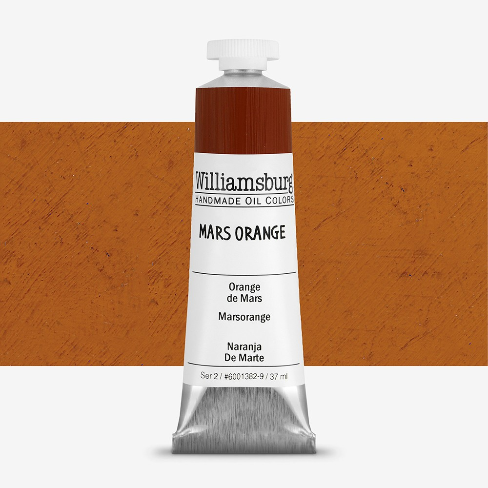 Williamsburg : Oil Paint : 37ml Mars Orange