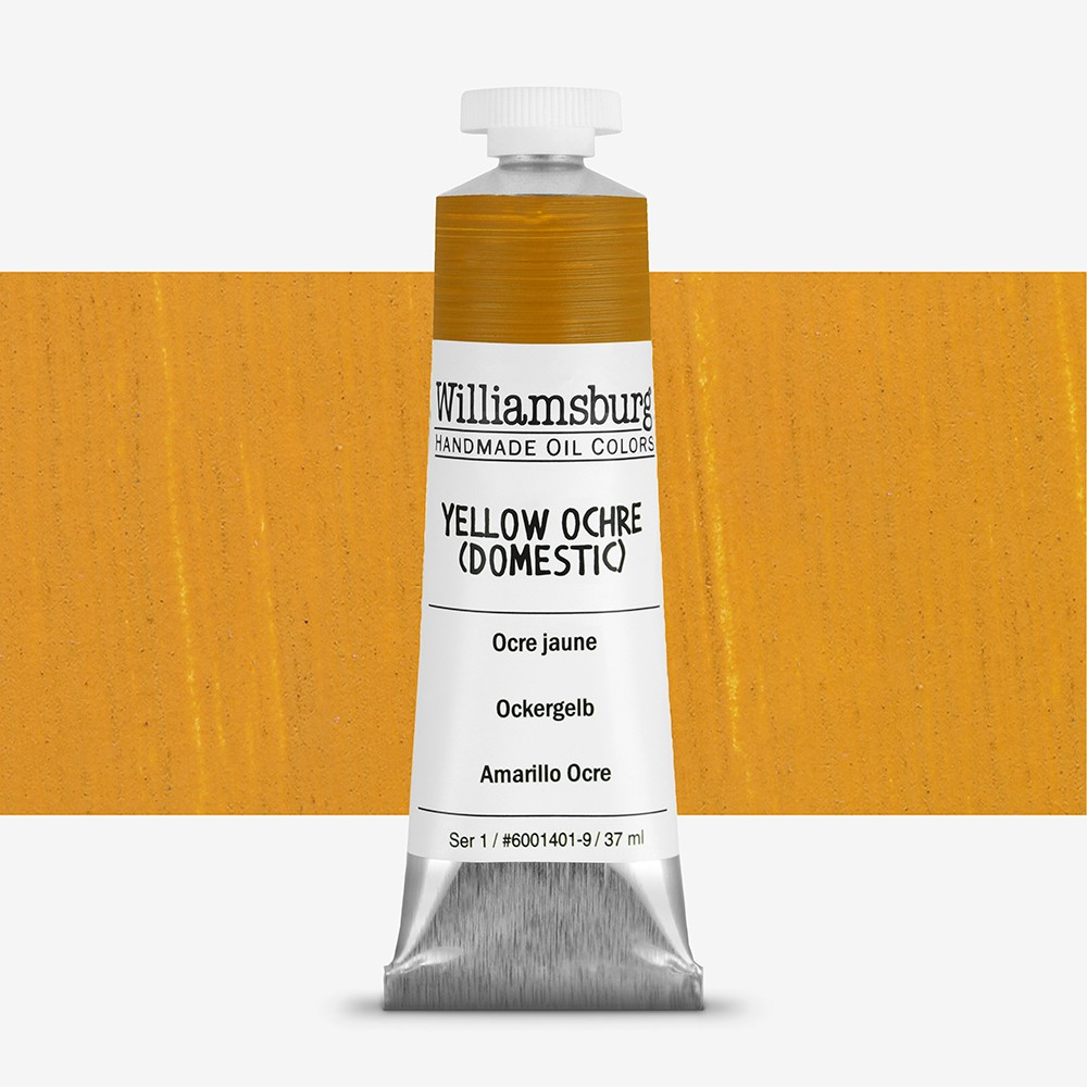 Williamsburg : Oil Paint : 37ml Yellow Ochre (Domestic)