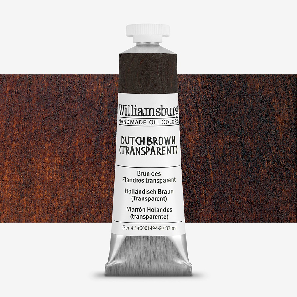 Williamsburg : Oil Paint : 37ml Dutch Brown (Transparent)
