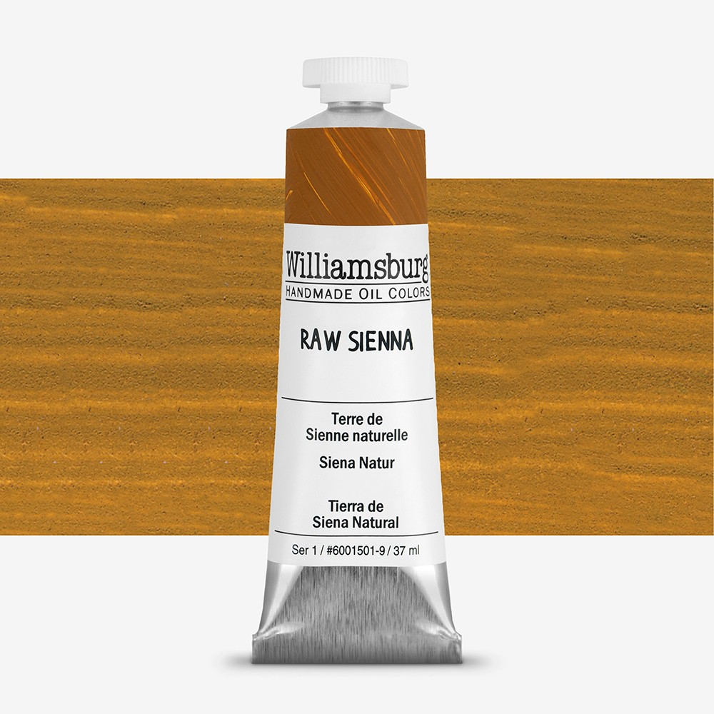 Williamsburg : Oil Paint : 37ml Raw Sienna