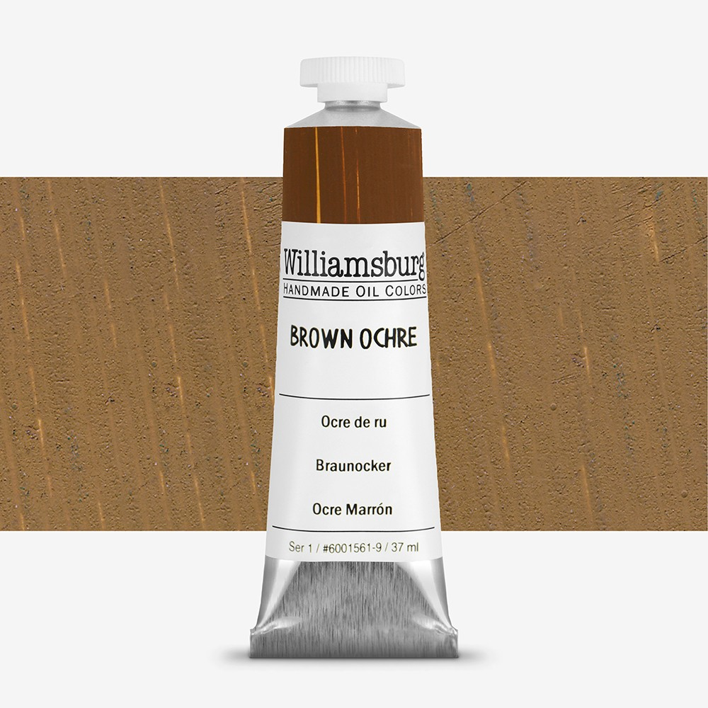 Williamsburg Oil Paint 37ml : Brown Ochre