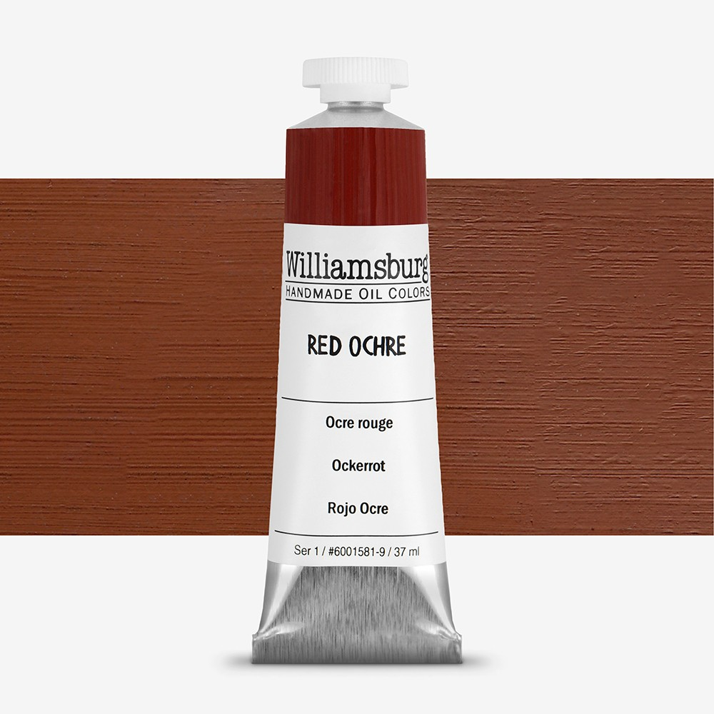 Williamsburg : Oil Paint : 37ml Red Ochre