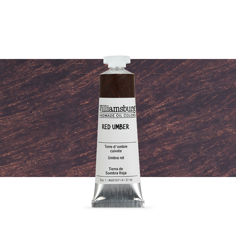 Williamsburg : Oil Paint : 37ml Red Umber