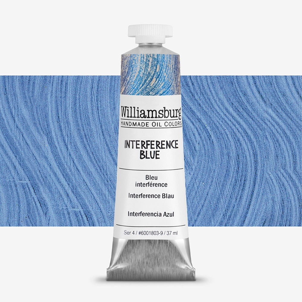 Williamsburg : Oil Paint : 37ml Interference Blue