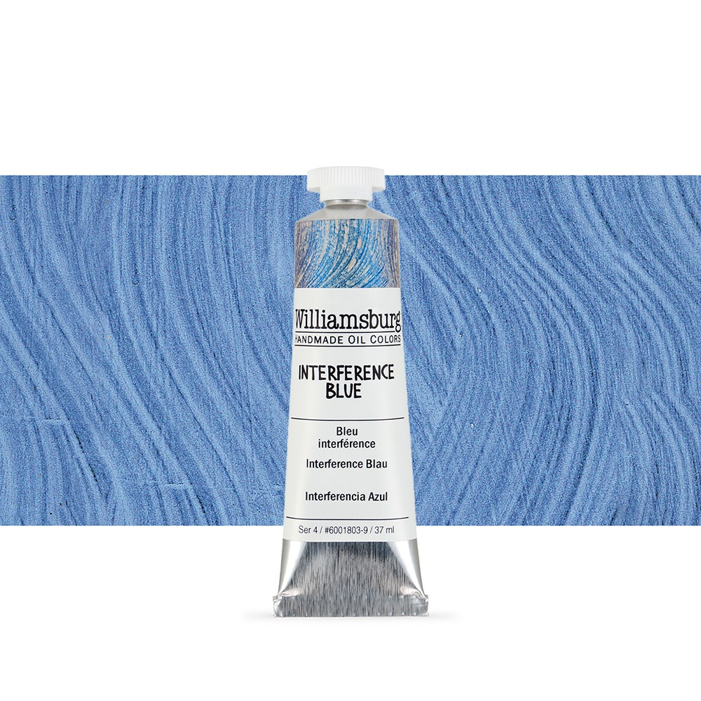 Williamsburg : Oil Paint : 37ml : Interference Blue