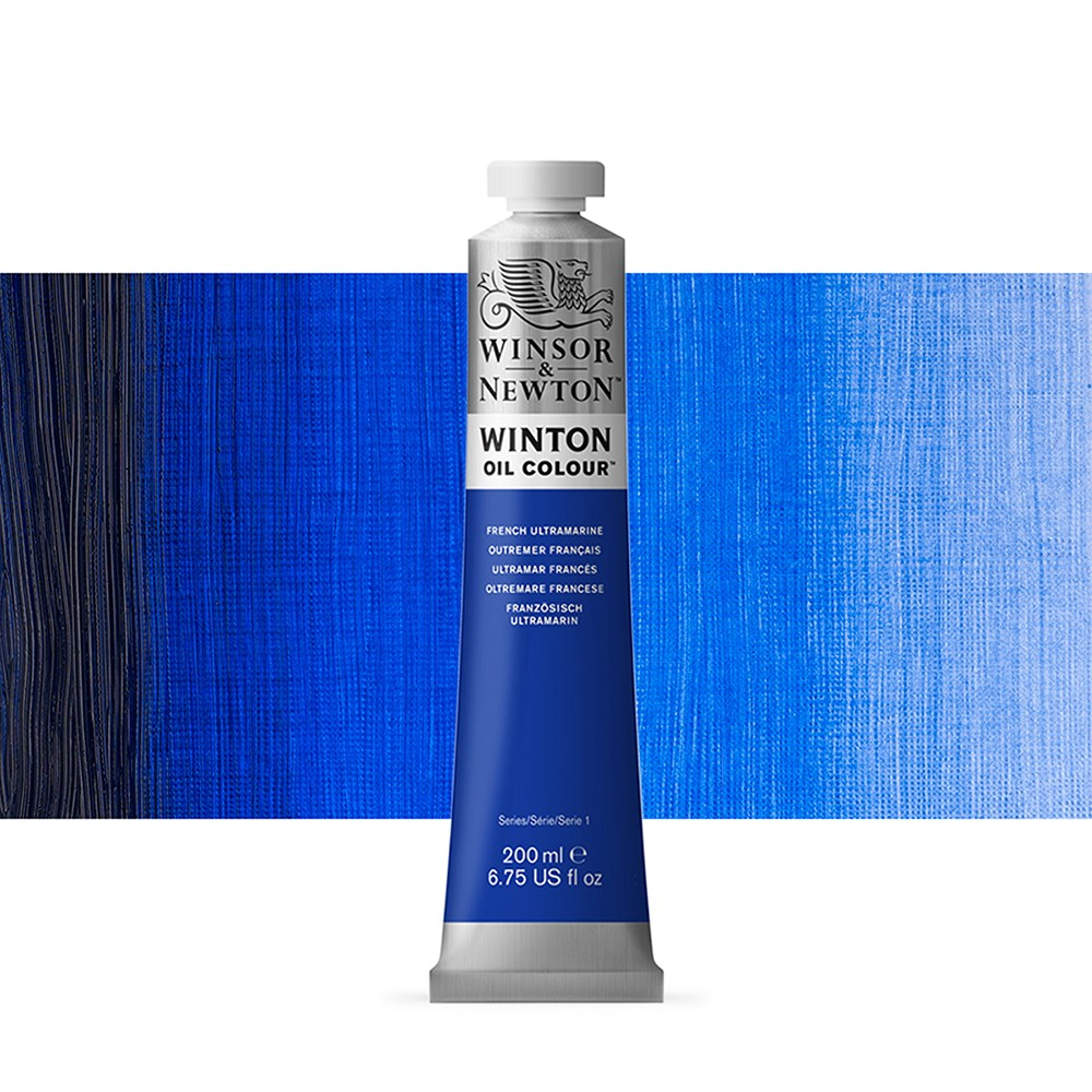 Winsor & Newton : Winton Oil Paint : 200ml : French Ultramarine