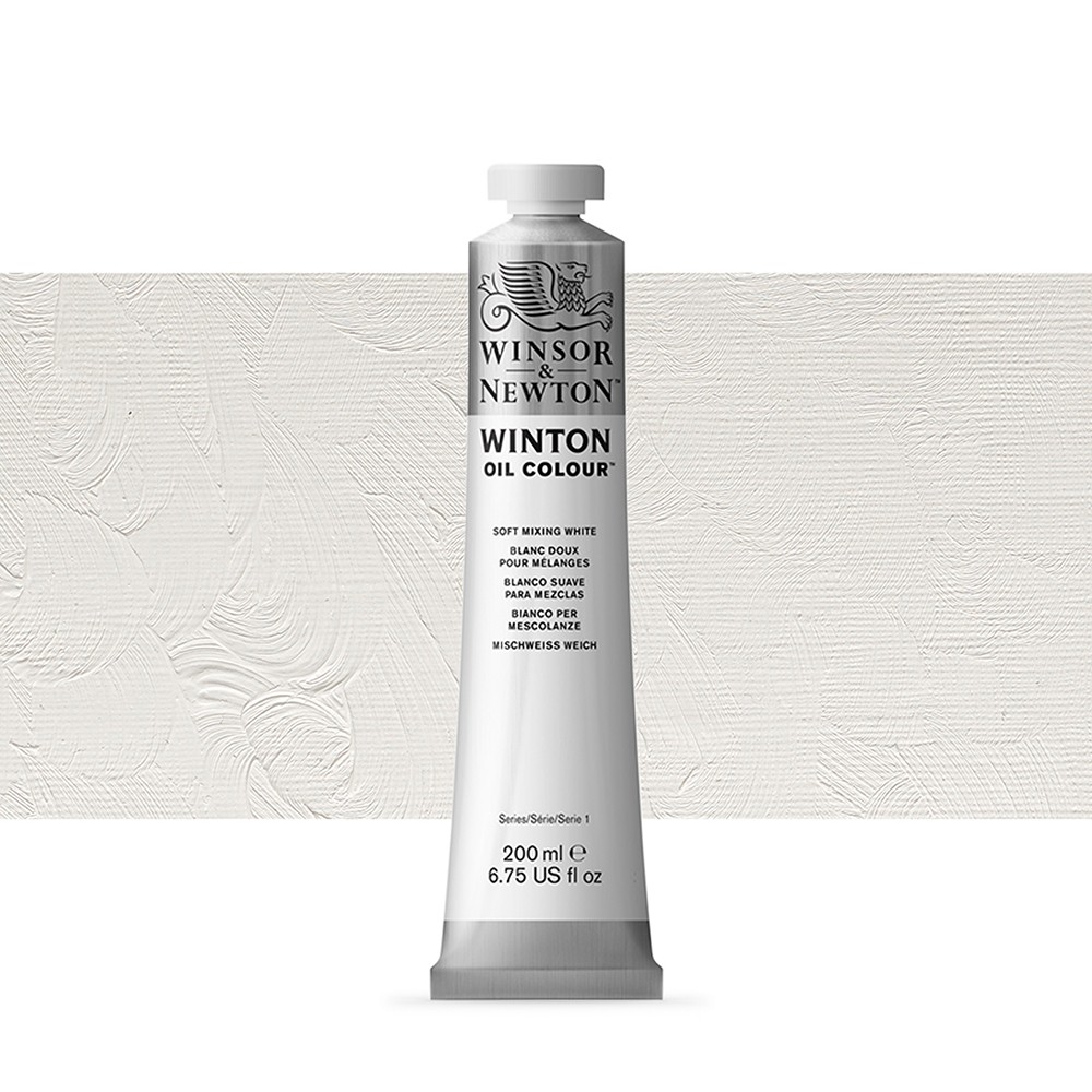 Winsor & Newton : Winton Oil Paint : 200ml : Soft Mixing White