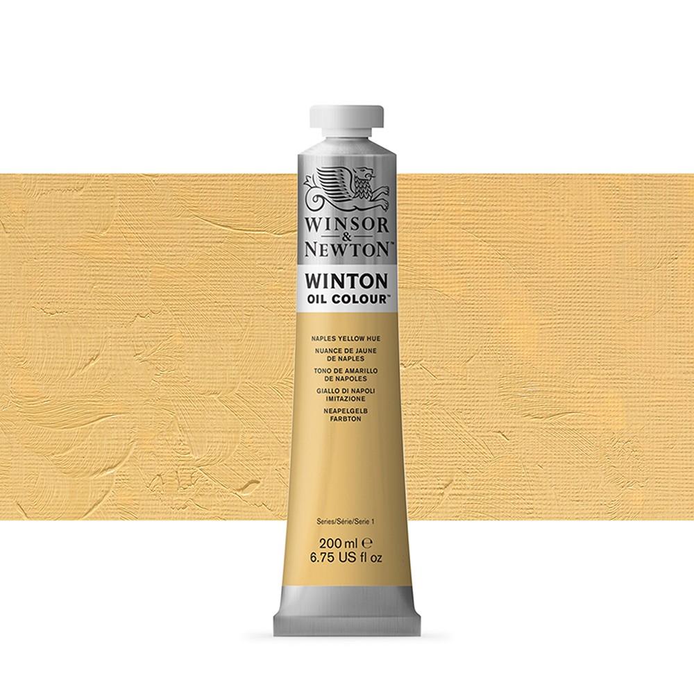 Winsor & Newton : Winton Oil Paint : 200ml : Naples Yellow Hue