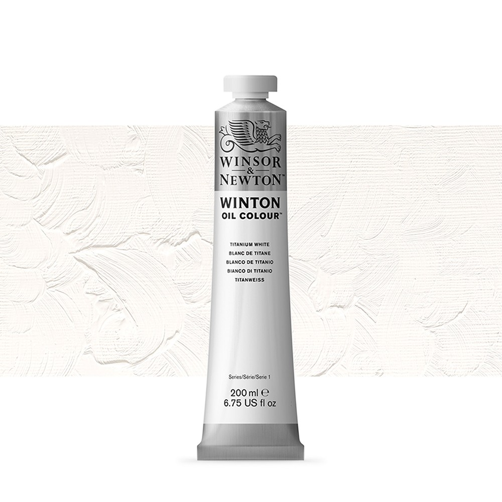 Winsor & Newton : Winton : Oil Paint : 200ml : Titanium White