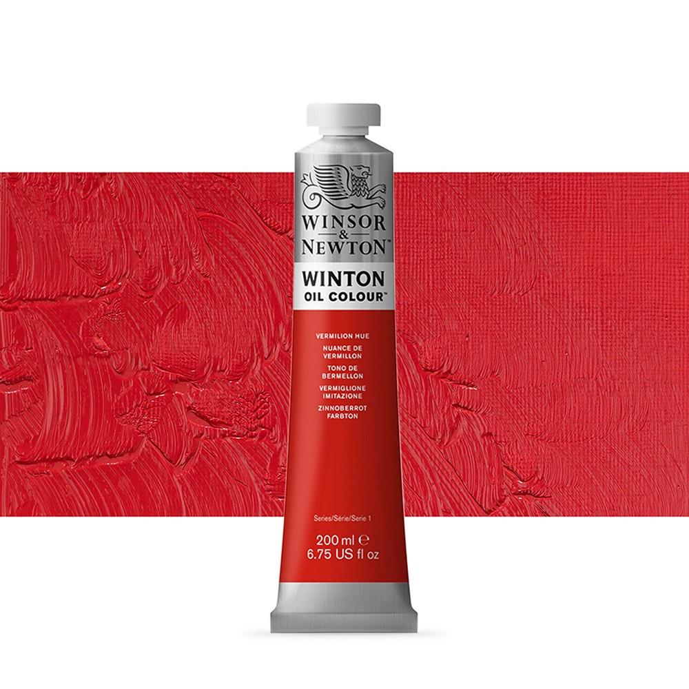 Winsor & Newton : Winton Oil Paint : 200ml : Vemillion Hue
