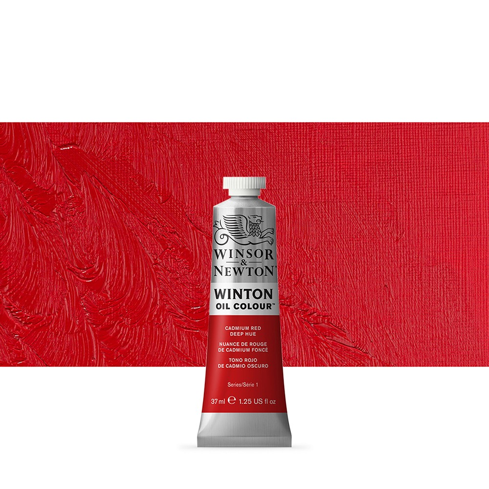 Winsor & Newton : Winton Oil Paint : 37ml : Cadmium Red Deep Hue