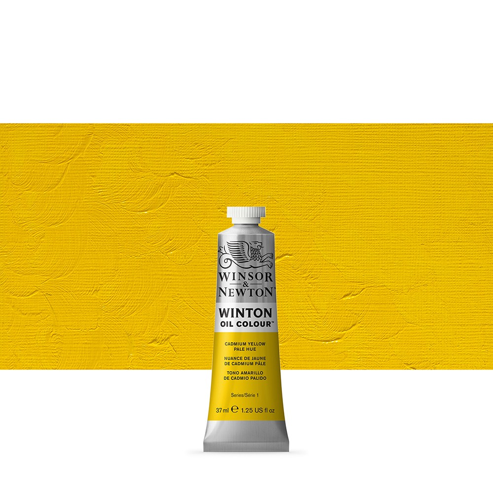 Winsor & Newton : Winton Oil Paint : 37ml : Cadmium Yellow Pale Hue