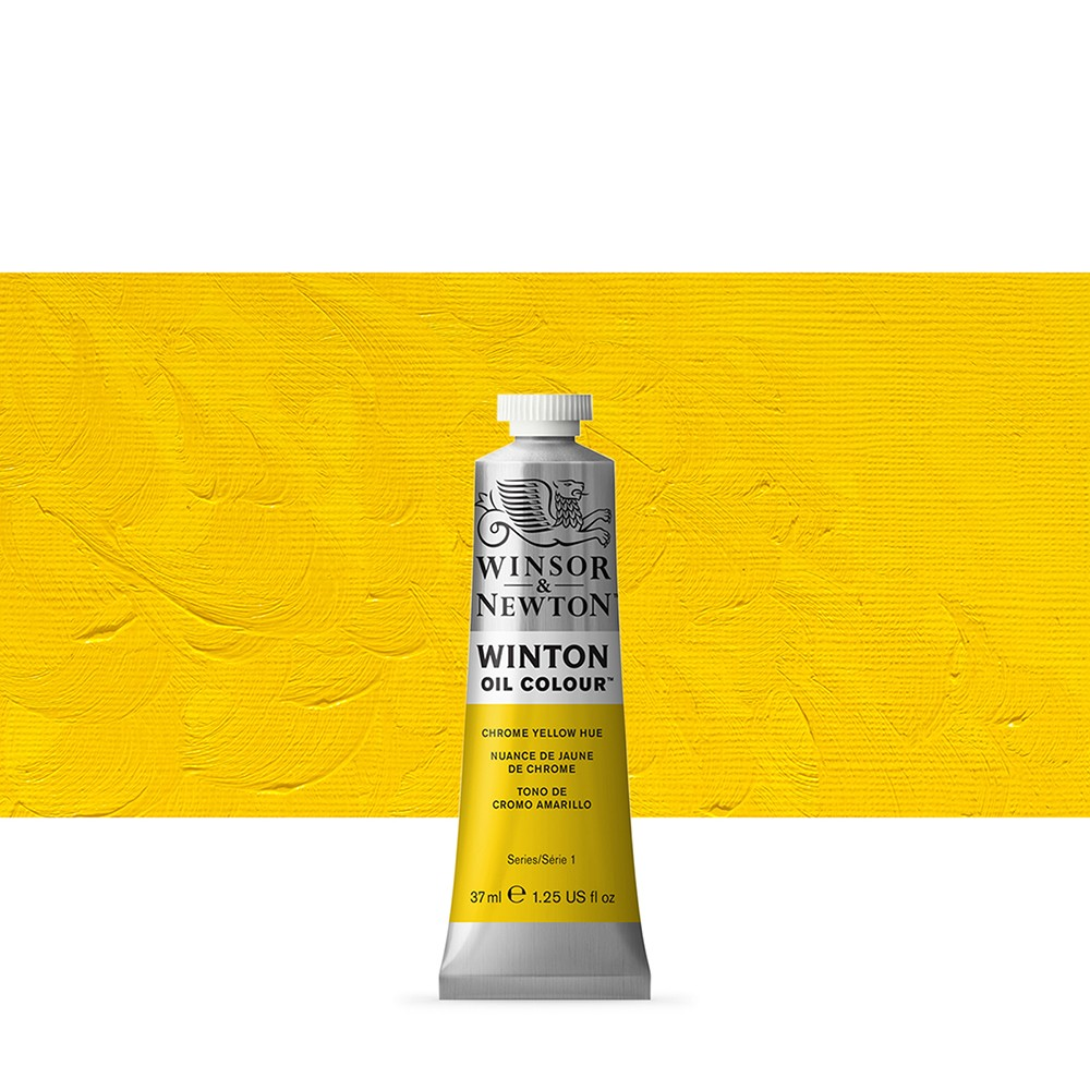 Winsor & Newton : Winton Oil Paint : 37ml : Chrome Yellow Hue