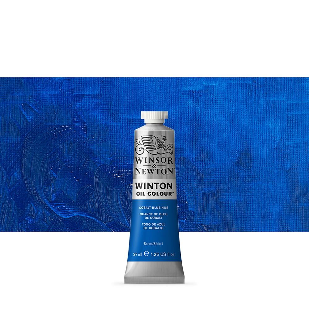 Winsor & Newton : Winton Oil Paint : 37ml : Cobalt Blue Hue