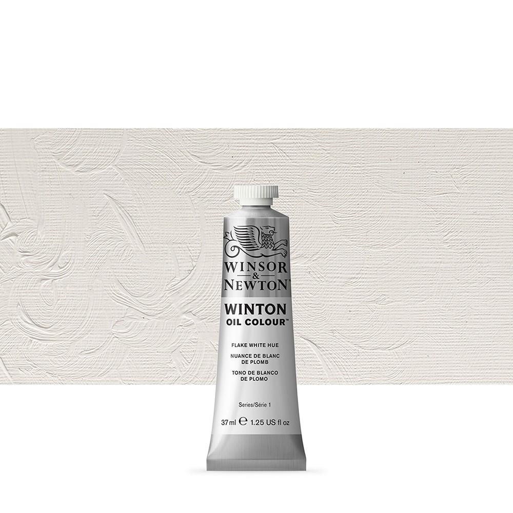 Winsor & Newton : Winton Oil Paint : 37ml : Flake White Hue