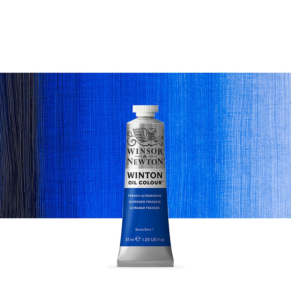 Winsor & Newton : Winton Oil Paint : 37ml : French Ultramarine