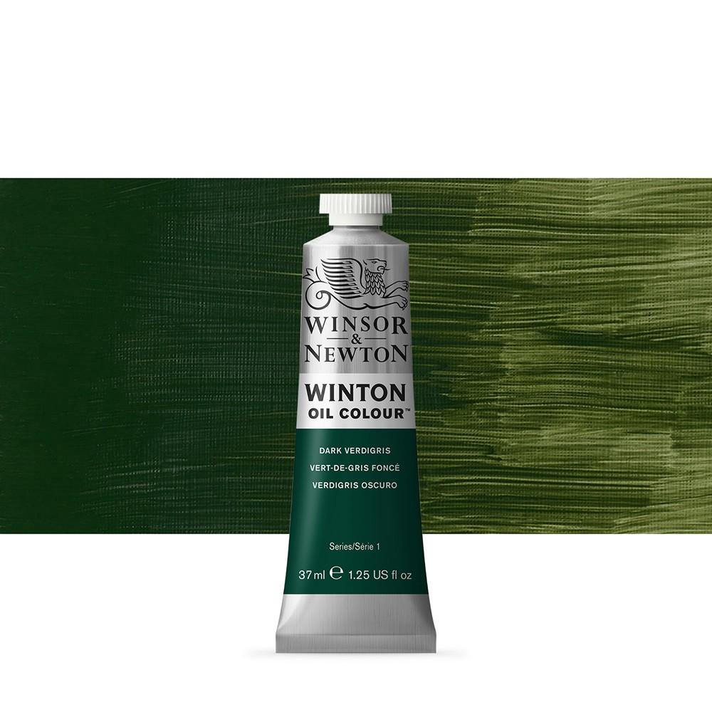 Winsor & Newton : Winton Oil Paint : 37ml : Dark Verdigris