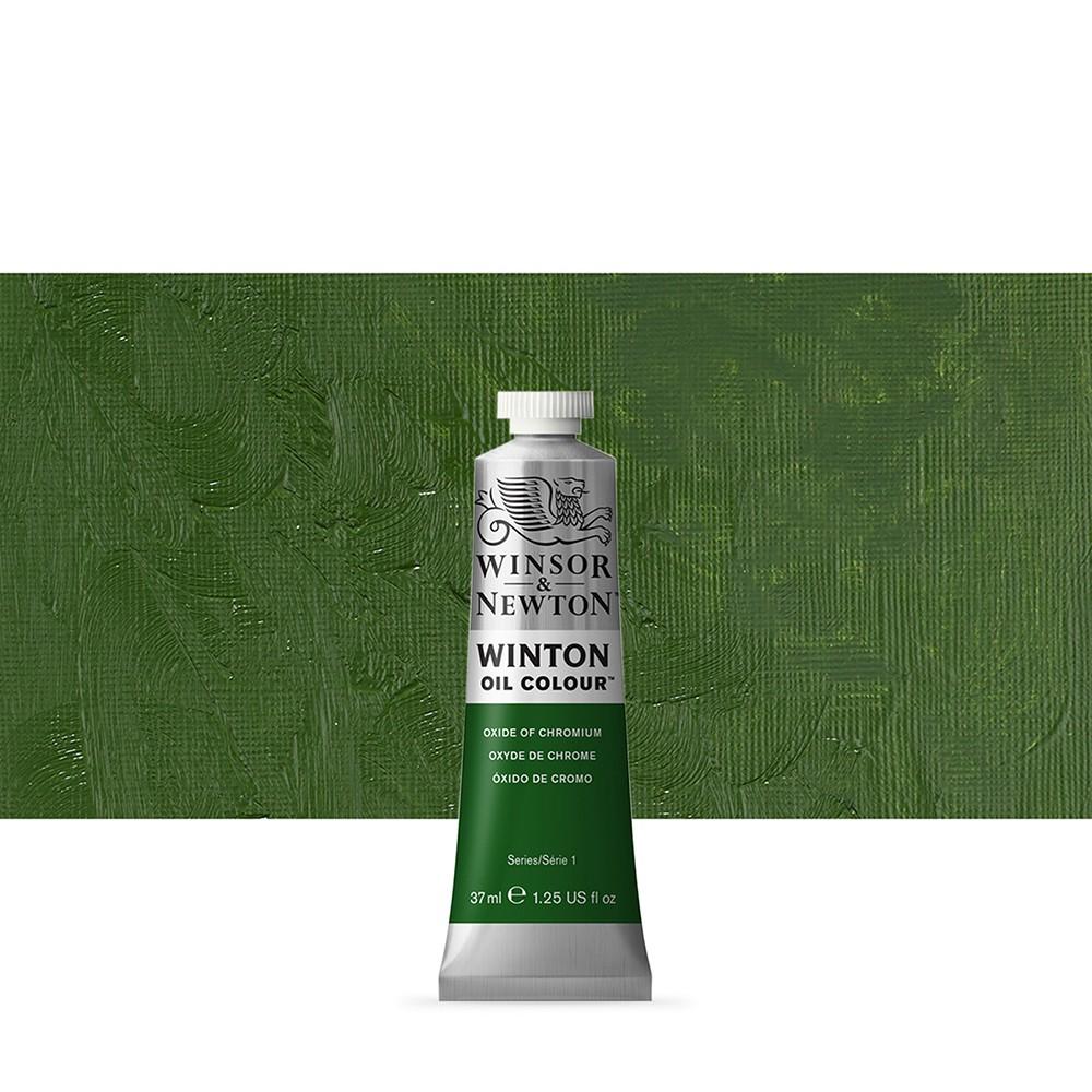 Winsor & Newton : Winton : Oil Paint : 37ml : Oxide Of Chromium