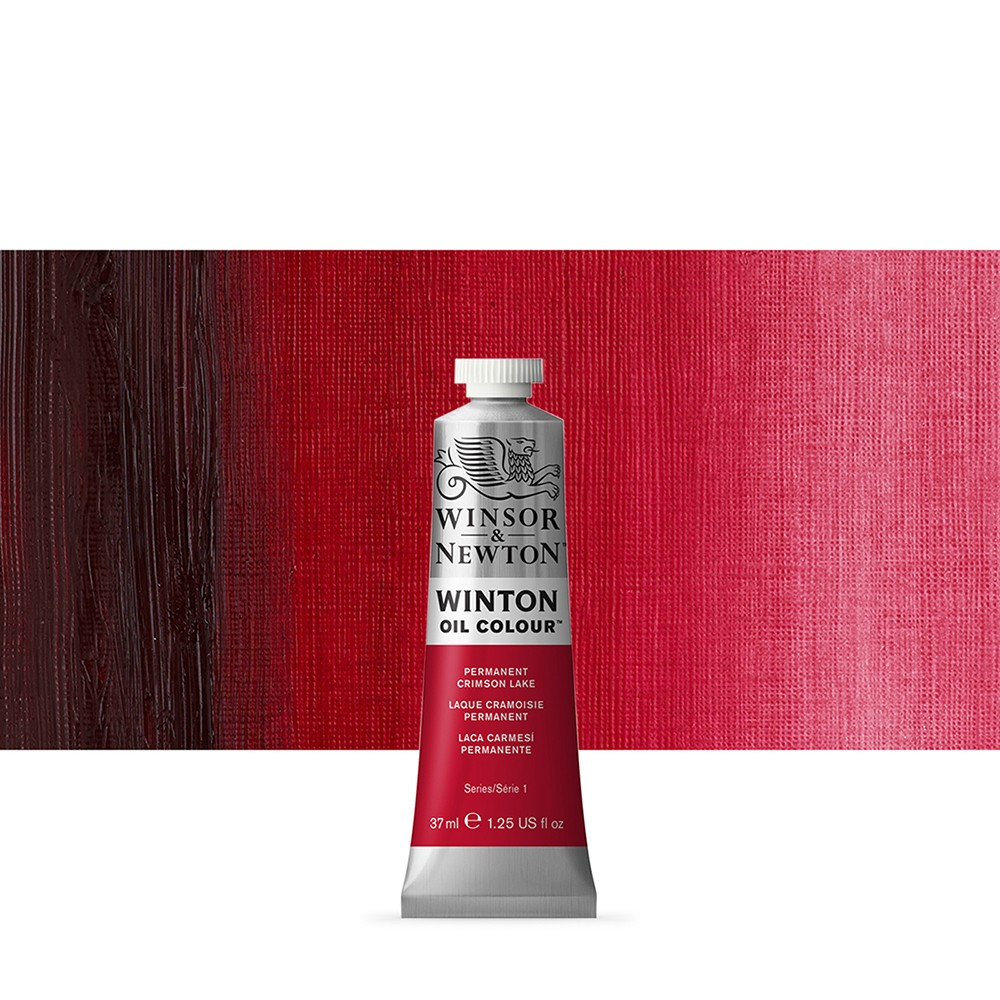 Winsor & Newton : Winton Oil Paint : 37ml : Permanent Crimson Lake