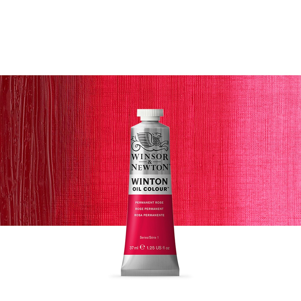Winsor & Newton : Winton Oil Paint : 37ml : Permanent Rose