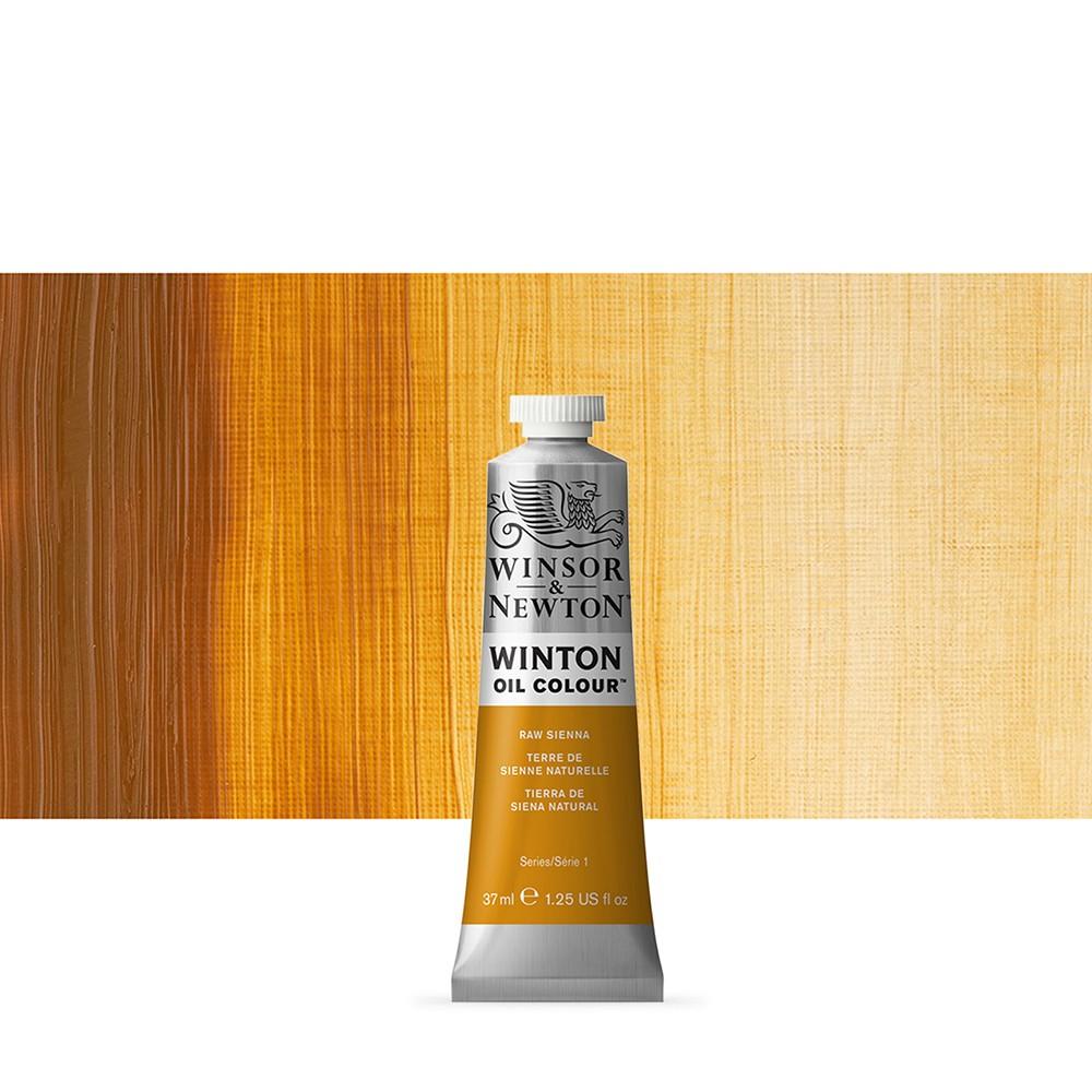 Winsor & Newton : Winton Oil Paint : 37ml : Raw Sienna