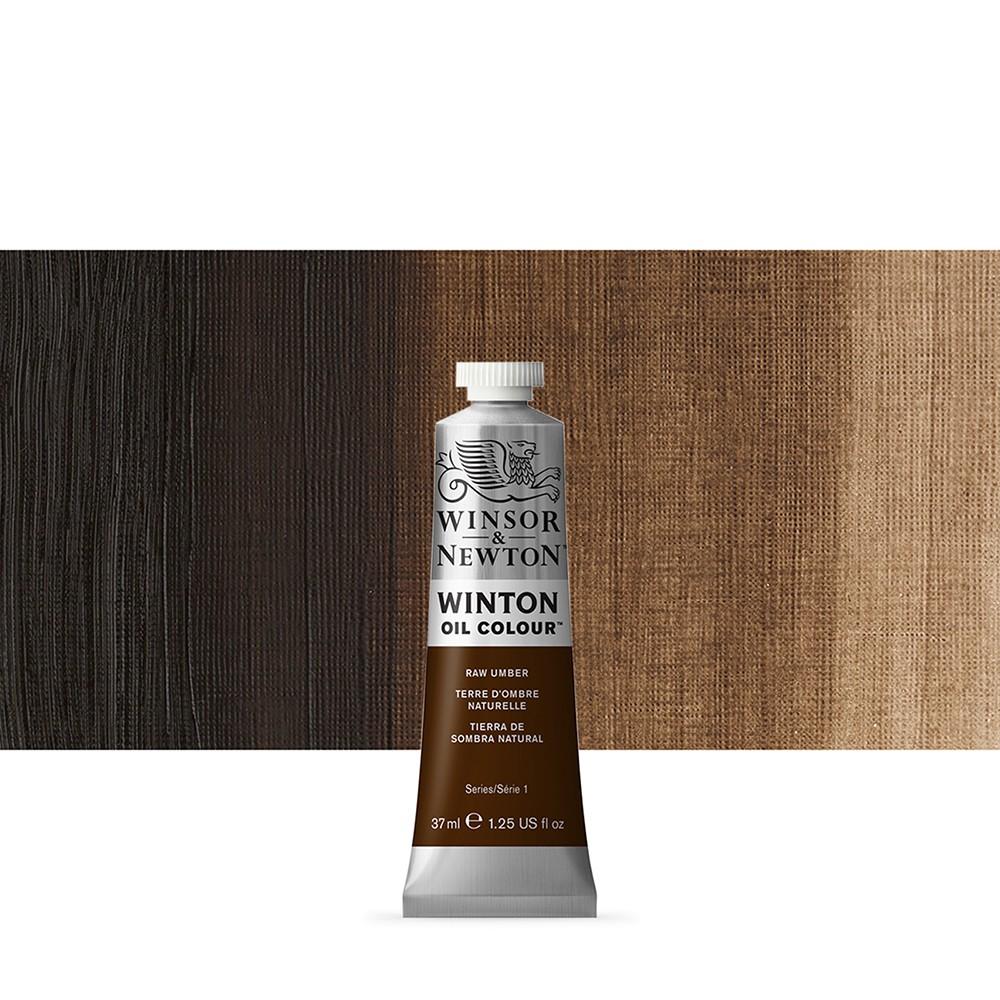 Winsor & Newton : Winton Oil Paint : 37ml : Raw Umber