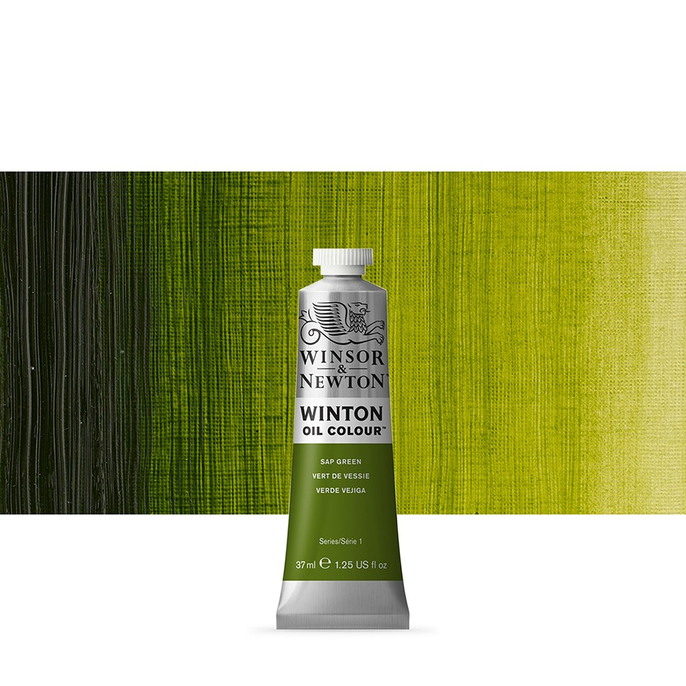 Winsor & Newton : Winton Oil Paint : 37ml : Sap Green
