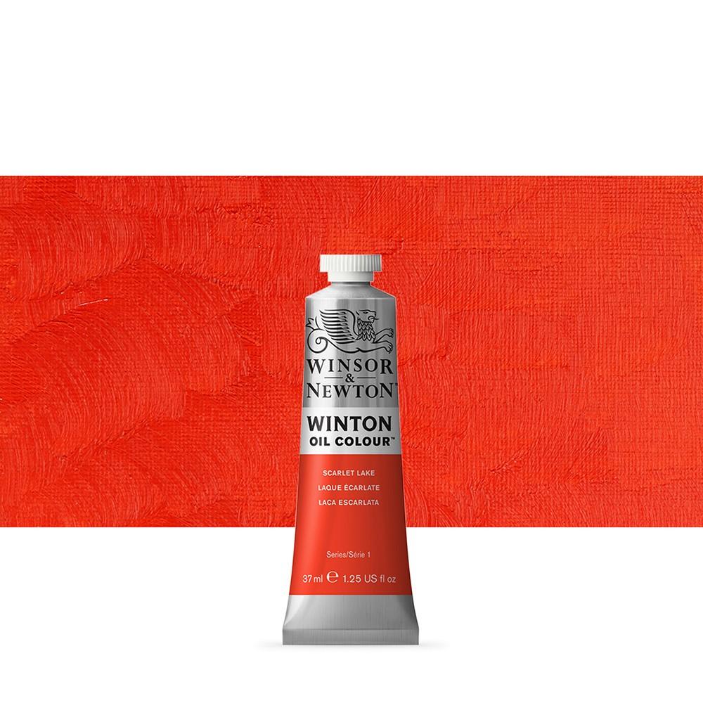 Winsor & Newton : Winton Oil Paint : 37ml : Scarlet Lake