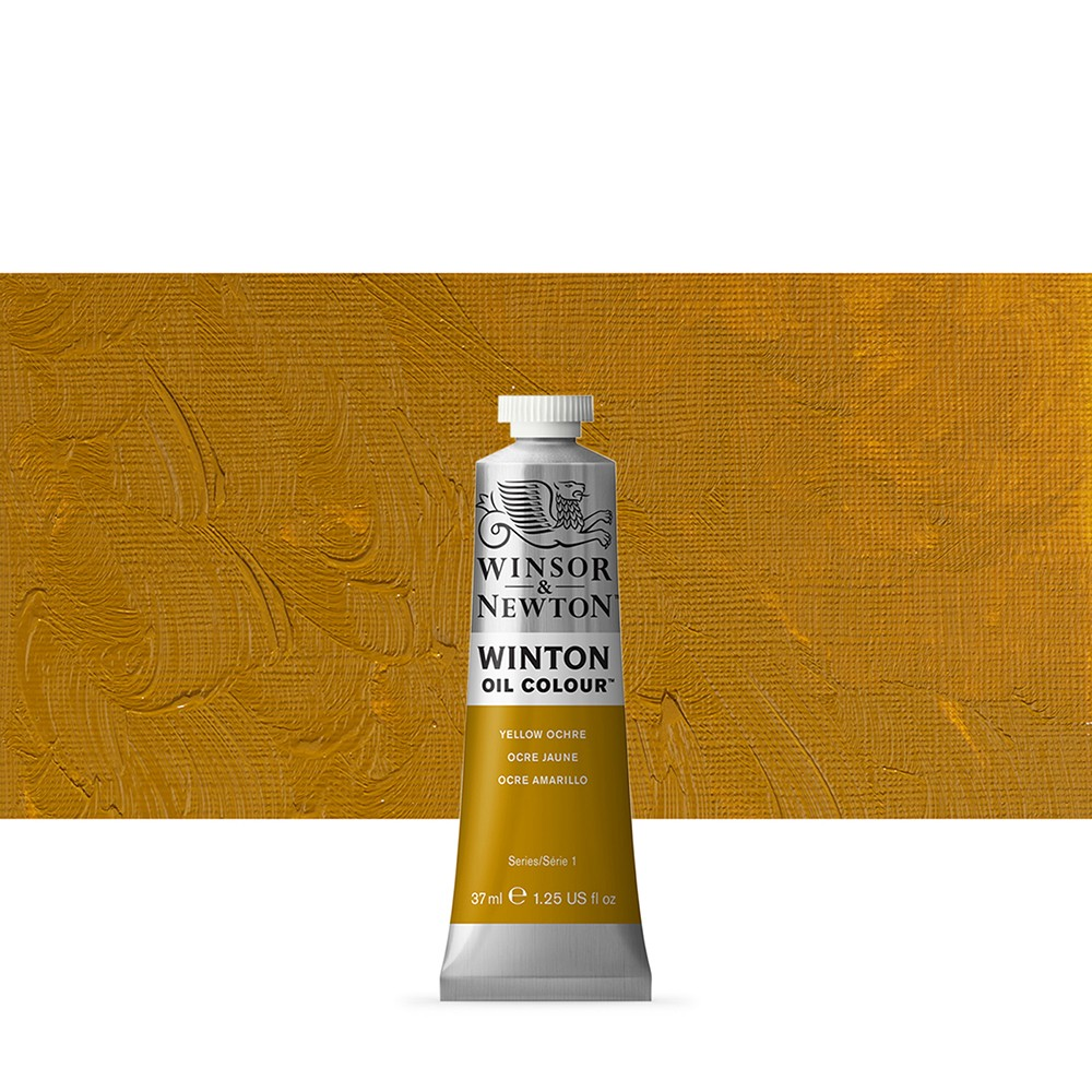 Winsor & Newton : Winton Oil Paint : 37ml : Yellow Ochre