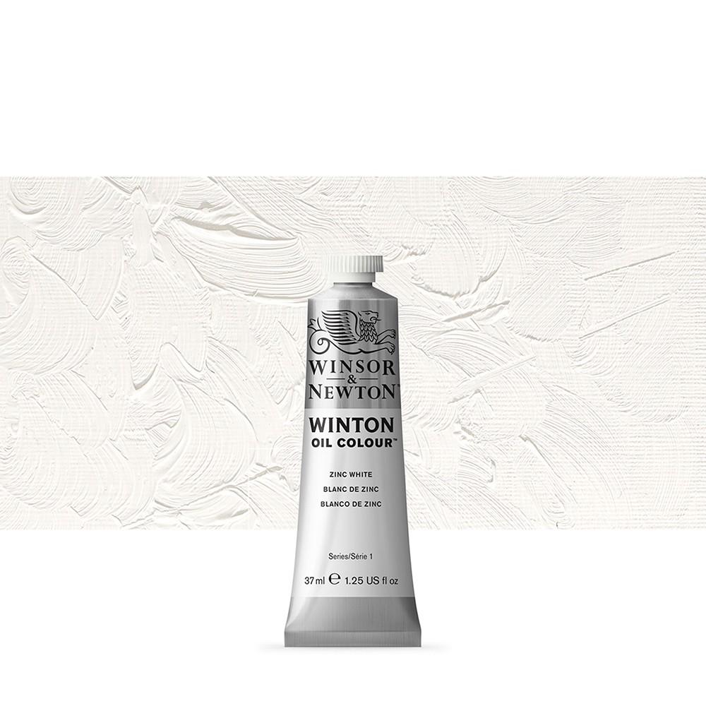 Winsor & Newton : Winton Oil Paint : 37ml : Zinc White