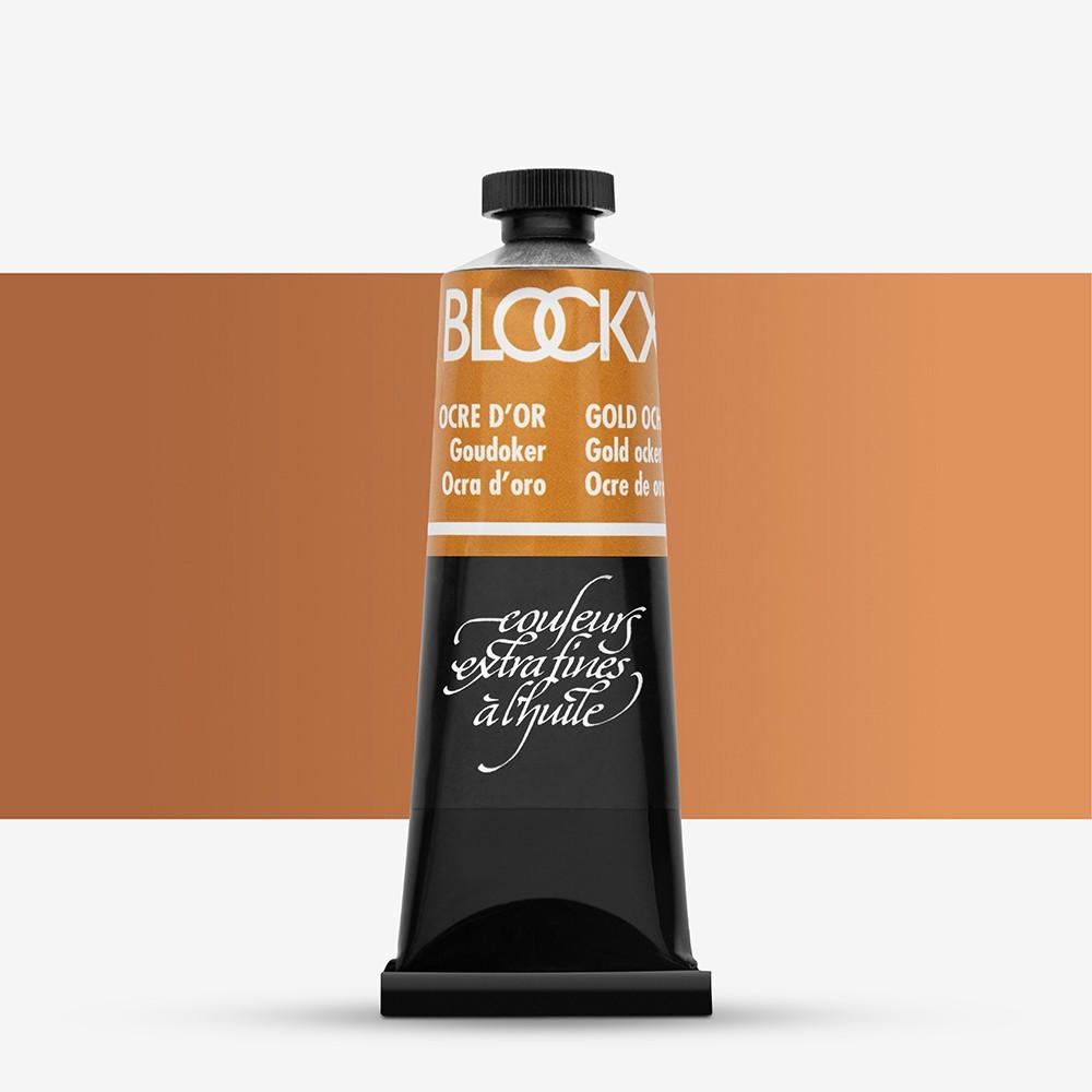 Blockx : Oil Paint : 35ml : Golden Ochre