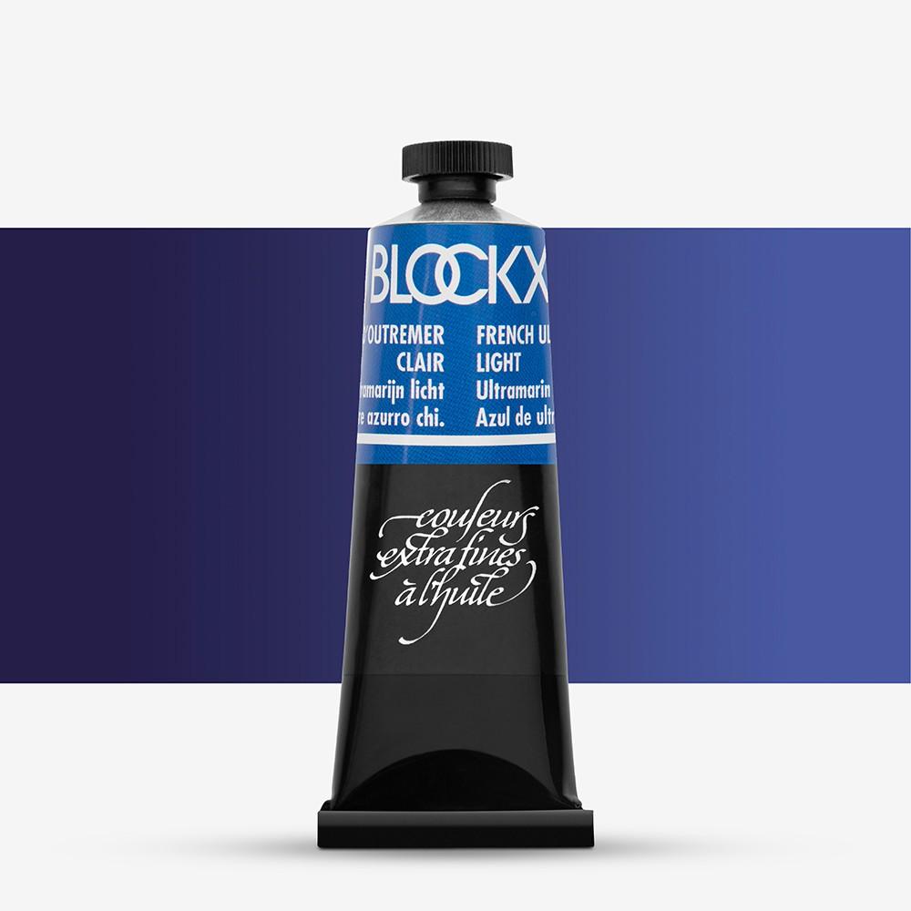 Blockx : Oil Paint : 35ml : Ultramarine Blue Light