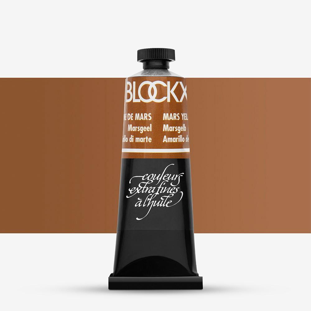 Blockx : Oil Paint : 35ml : Mars Yellow