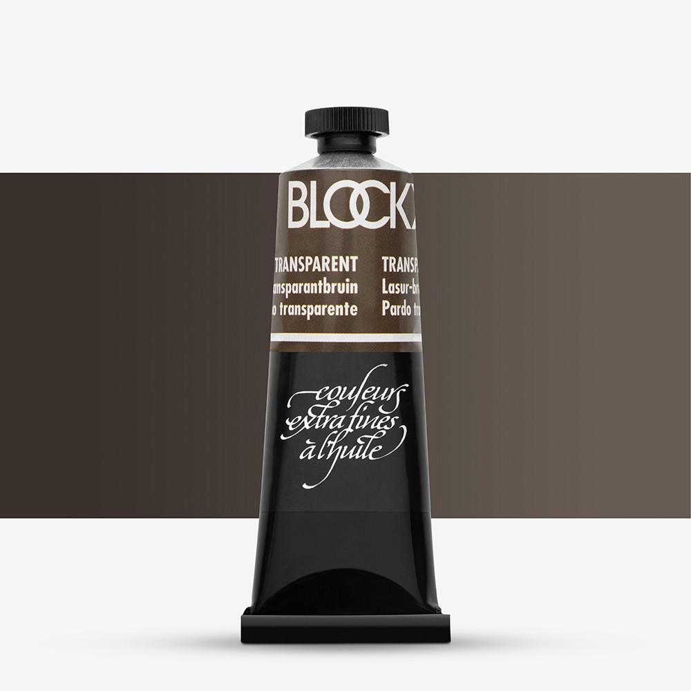 Blockx : Oil Paint : 35ml : Transparent Brown