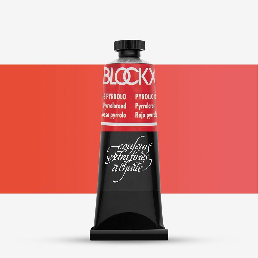 Blockx : Oil Paint : 35ml : Pyrrol Red