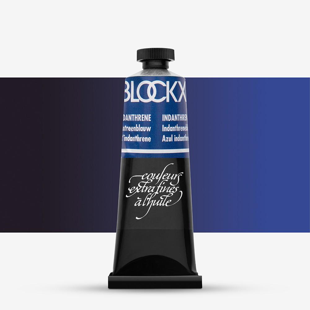 Blockx : Oil Paint : 35ml : Indanthrene Blue