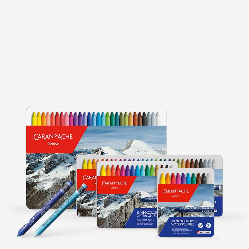 Caran D'Ache : NEOCOLOR II : Artists' Watercolour Crayons