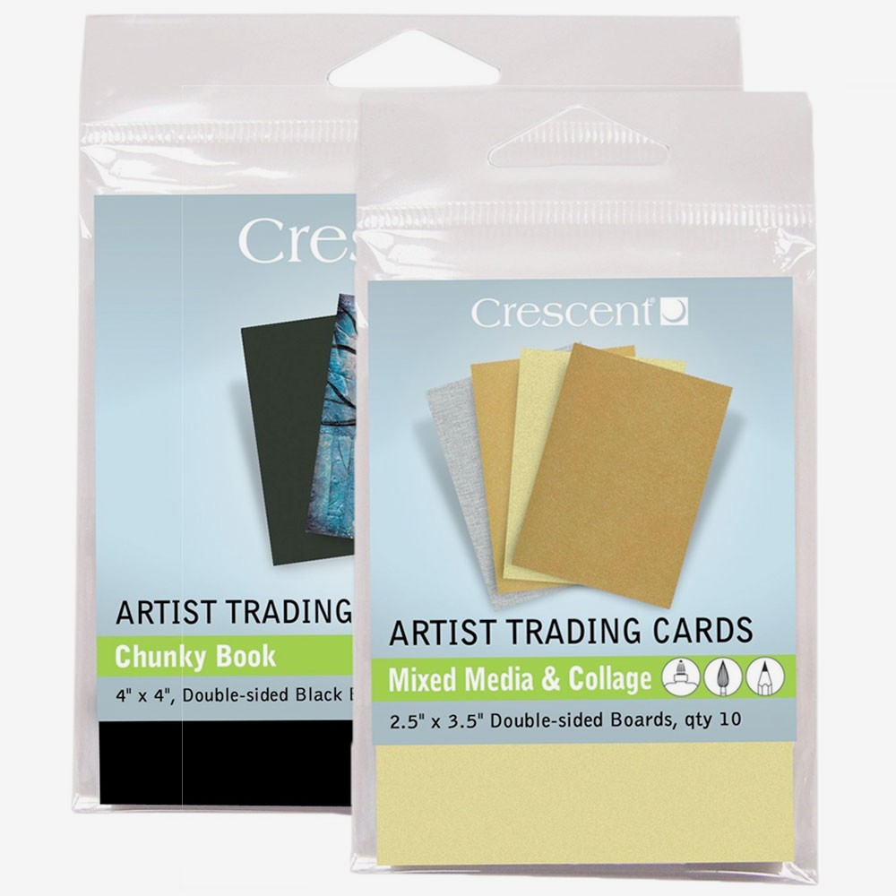 Crescent : Artist Trading Cards