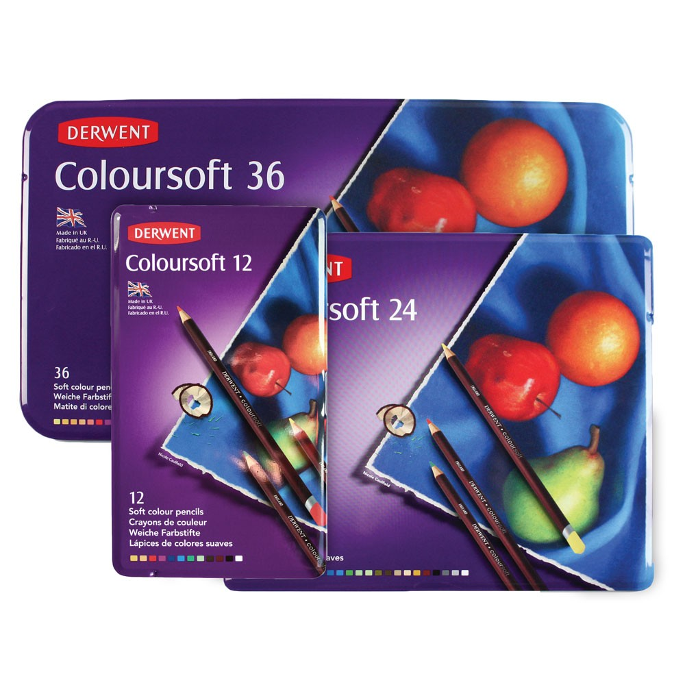 Derwent : Coloursoft Pencil Sets