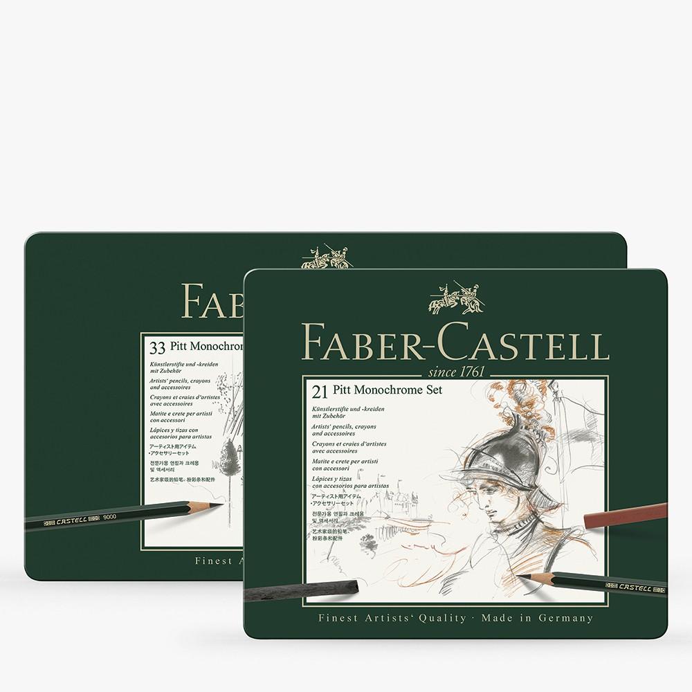 Faber Castell : Pitt : Monochrome Sets
