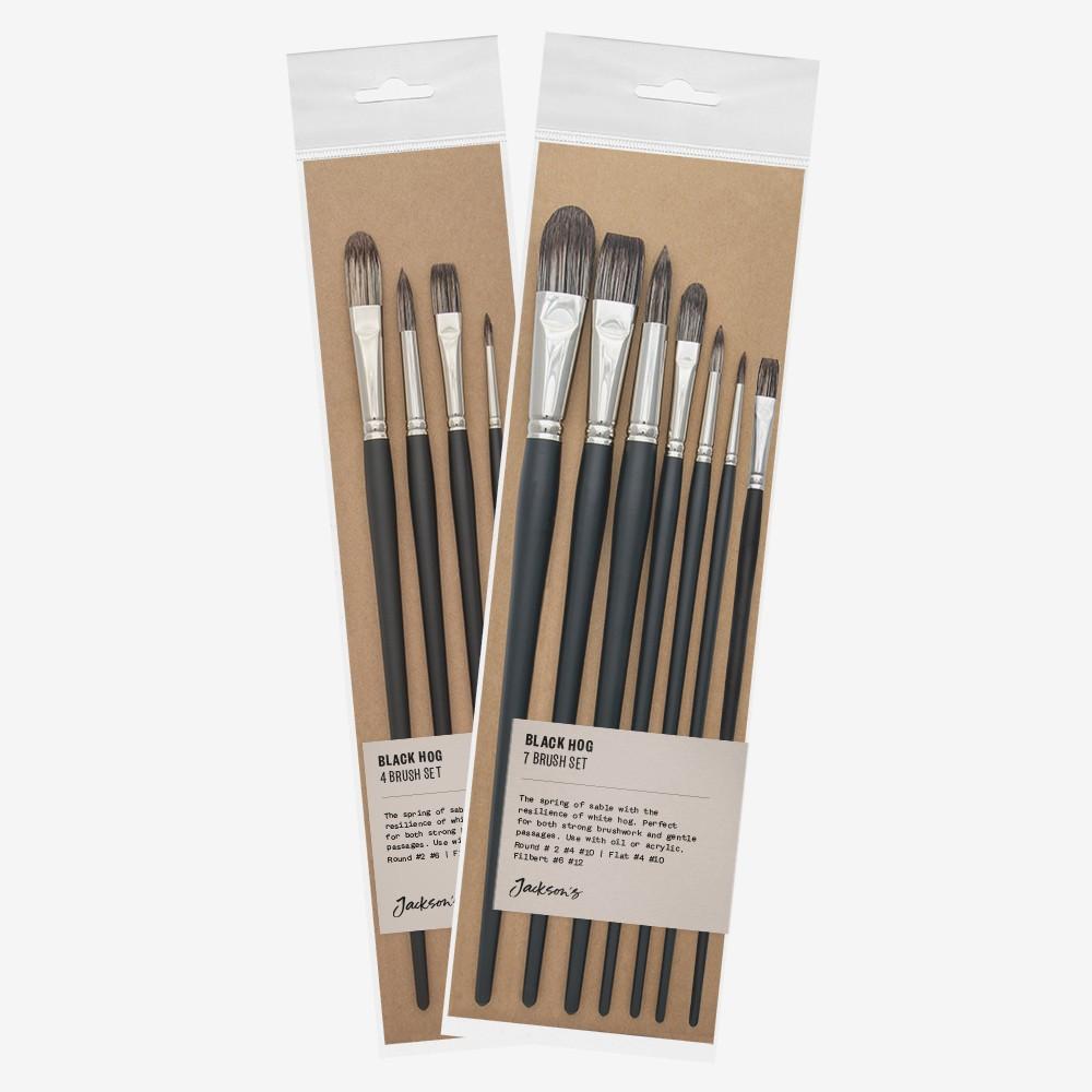 Jackson's : Black Hog Brushes : Sets