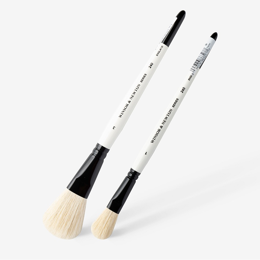 Winsor & Newton : Goat Hair Wash Brushes