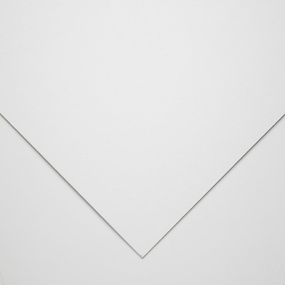 Crescent : Art Board : Illustration Student : Blue White : Cold Pressed : 15x20in : Medium