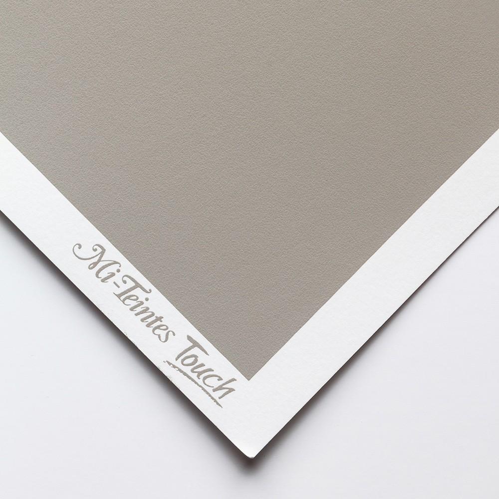 Canson : Mi-Teintes : Touch Pastel : Paper : 335gsm : 50x65cm : Flannel Grey