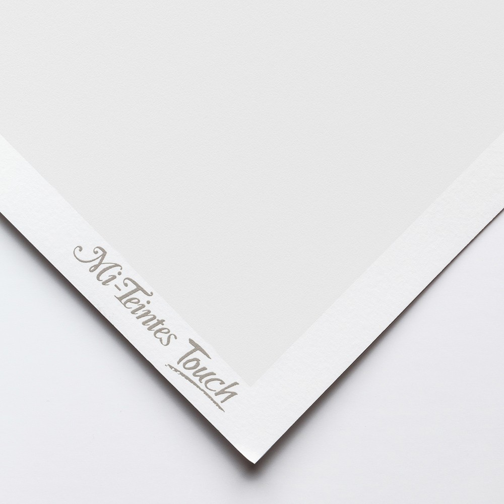 Canson : Mi-Teintes Touch : Pastel Paper : 350gsm : 50x65cm : 350 : White