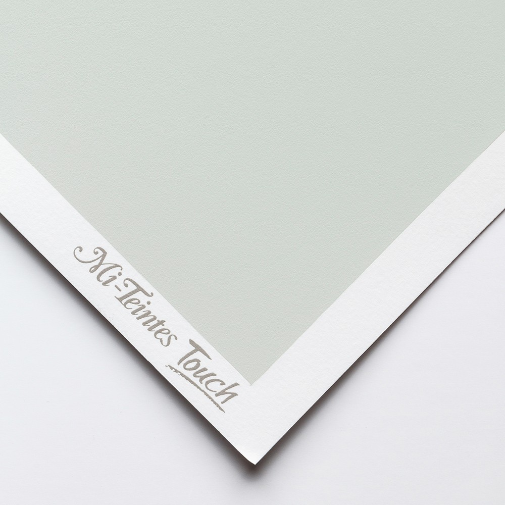 Canson : Mi-Teintes : Touch Pastel : Paper : 335gsm : 50x65cm : 354 : Sky Grey